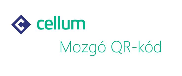 Mozgó QR-kód a Cellumtól